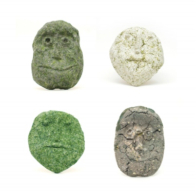 Algae Masks (various models) 25 x 25 cm each.